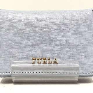 フルラ(Furla)のフルラ Wホック財布 ライトグレー レザー(財布)