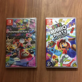 Nintendo Switch - 新品未使用☆マリオカート8デラックス☆マリオパーティ☆任天堂スイッチソフト