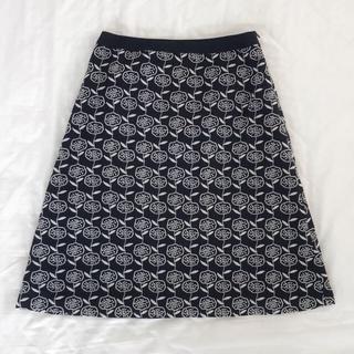 mina perhonen - ●sally scott 刺繍スカート ブラック●サリースコット