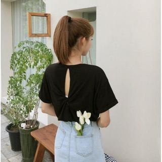 ゴゴシング(GOGOSING)のG397新品*)gogosingバックシャーリングTシャツ(Tシャツ(半袖/袖なし))