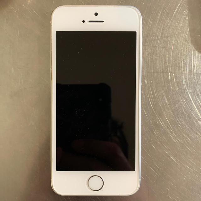 iPhone(アイフォーン)のiPhone SE Silver 32GB SIMフリー スマホ/家電/カメラのスマートフォン/携帯電話(スマートフォン本体)の商品写真