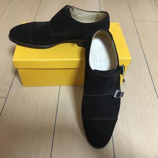 ナノユニバース(nano・universe)のほぼ未使用 メンズ革靴(ドレス/ビジネス)