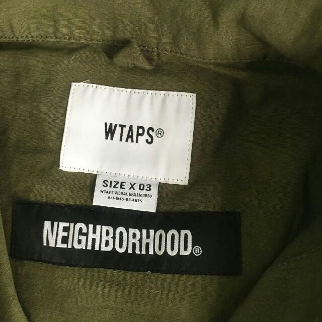 NEIGHBORHOOD(ネイバーフッド)のWTAPS x NEIGHBORHOOD JUNGLE LS メンズのトップス(シャツ)の商品写真