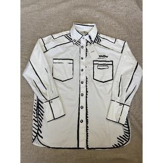 フェンディ(FENDI)の♥fendiフェンディ♥ ワイシャツ  シャツ メンズ L(シャツ)