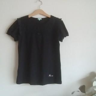 トッカ(TOCCA)のTOCCA♡150Tシャツ黒(Tシャツ/カットソー)