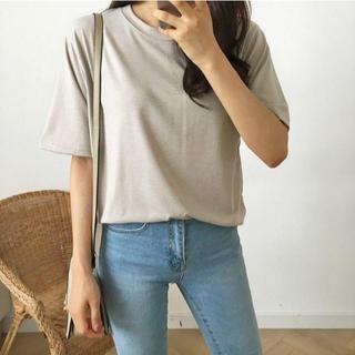 ゴゴシング(GOGOSING)のG409新品*)gogosingサラさらもちTシャツ(Tシャツ(半袖/袖なし))