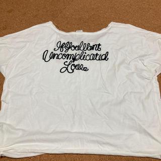 マウジー(moussy)のmoussy マウジー フリーサイズ Tシャツ(Tシャツ(半袖/袖なし))