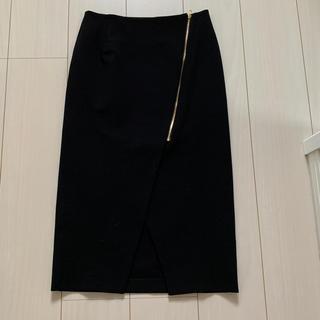 ラウンジドレス(Loungedress)のラウンジドレス☆ジップスカート☆新品(ひざ丈スカート)