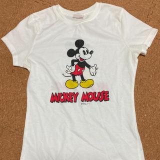マウジー(moussy)のmoussy マウジー ミッキー Tシャツ (Tシャツ(半袖/袖なし))