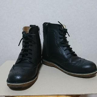 サマンサモスモス(SM2)のSM2 サマンサモスモス 編み上げショートブーツ(ブーツ)