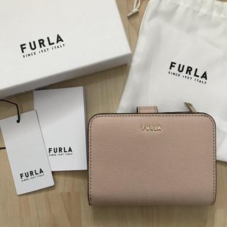 フルラ(Furla)の新品!フルラ FURLA 二つ折り財布 ベージュ ライトベージュ(財布)
