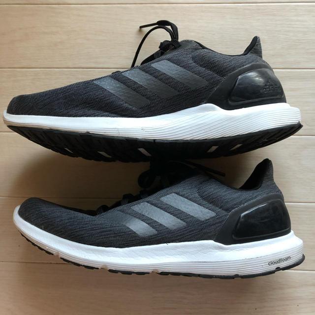 adidas(アディダス)の豚バラ1201様専用 アディダス  メンズ 26.5 黒 クラウドフォーム メンズの靴/シューズ(スニーカー)の商品写真