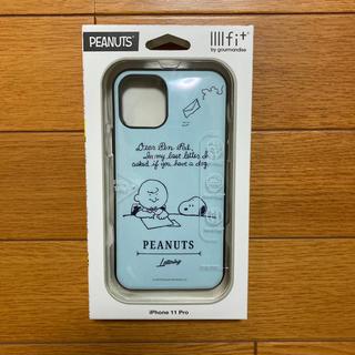 スヌーピー(SNOOPY)のiphone11pro ケース スヌーピー ピーナッツ イーフィット (iPhoneケース)