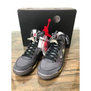 OFF-WHITE - Off-White × Nike Air Jordan 5