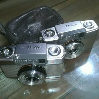 オリンパス(OLYMPUS)のオリンパス ペンEE 2台 PEN-EE EE S(フィルムカメラ)