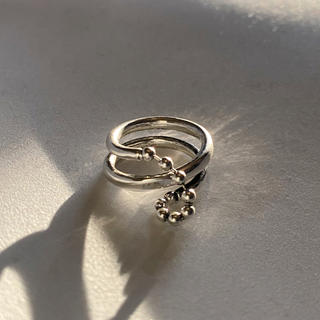 BEAUTY&YOUTH UNITED ARROWS - Antique ball chain ring No.450