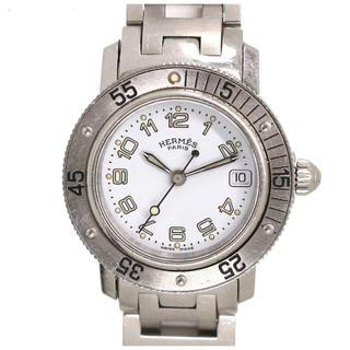 エルメス(Hermes)の【美品】エルメス  HERMES クリッパーダイバー  腕時計 デイト 文字盤(腕時計)