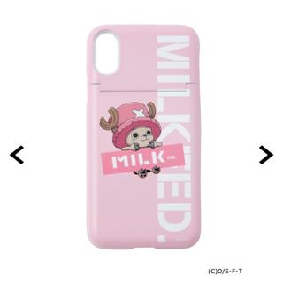 MILKFED. - ミルクフェド スマホケース アイフォン ワンピース チョッパー iPhone x
