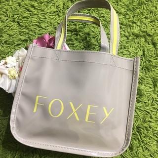 FOXEY - 新品フォクシー レディトートバッグ マチ広 コーティング素材