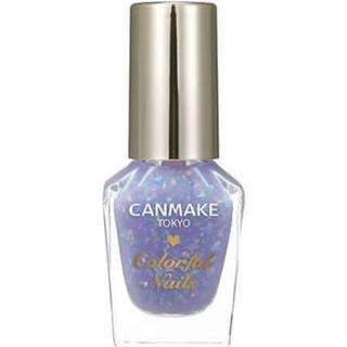 キャンメイク(CANMAKE)のCANMAKE カラフルネイルズ N40 レインドロップス 限定色 (マニキュア)