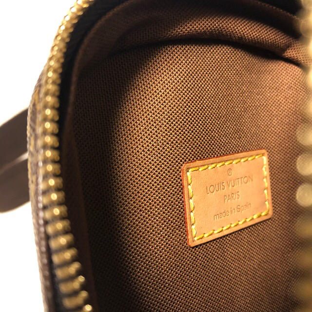 LOUIS VUITTON(ルイヴィトン)の美品【ルイ・ヴィトン】正規品モノグラム  ガンジュ ボディーバッグ♣︎プロフ必読 メンズのバッグ(ボディーバッグ)の商品写真