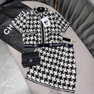 CHANEL - 超美品シャネル ニット カーディガン+スカート 二点セット