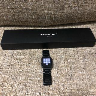 アップルウォッチ(Apple Watch)のApple Watch series3 GPSモデル 38mm (腕時計(デジタル))