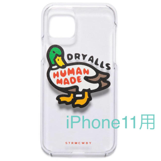 Supreme - HUMAN MADE IPHONE11 CASE DUCK CLEAR ダック鴨