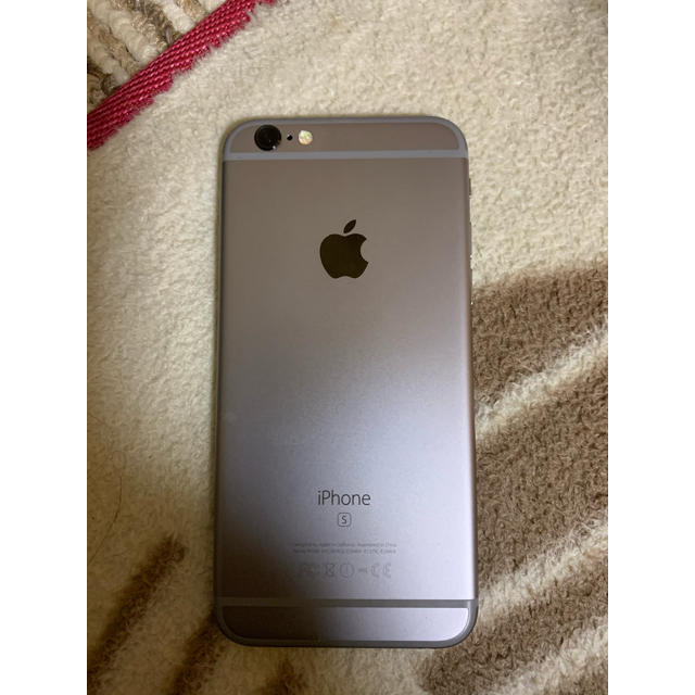iPhone(アイフォーン)のDoCoMoドコモ★iPhone6Sスペースグレー32GB美品 スマホ/家電/カメラのスマートフォン/携帯電話(スマートフォン本体)の商品写真