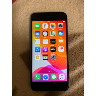 アイフォーン(iPhone)のDoCoMoドコモ★iPhone6Sスペースグレー32GB美品(スマートフォン本体)