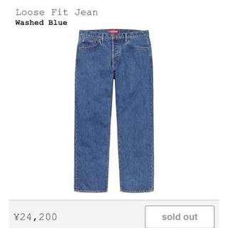 Supreme - supreme 20ss supreme loose fit jean 30