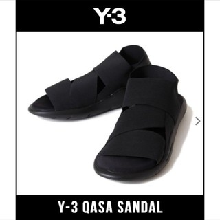 ワイスリー(Y-3)の【確実正規品!】Y3 Y-3 QASA SANDAL カーササンダル レア物!(サンダル)