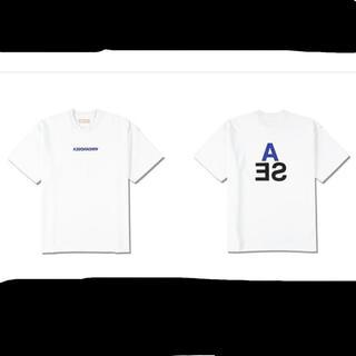シー(SEA)のWDS A-32 (TRIANGLE) T-SHIRT / WHITE(Tシャツ/カットソー(半袖/袖なし))