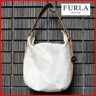 Furla - 爽やか~&上品♪【FURLA】本革ツートーンワンショルダーバッグ 送料込