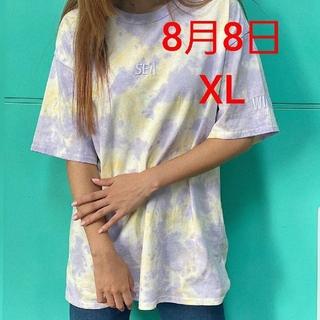 シー(SEA)のWDS TIE-DYE T-SHIRT(Tシャツ/カットソー(半袖/袖なし))