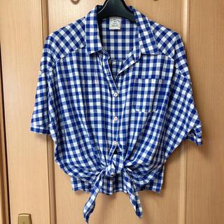 Discoat - チェックシャツ