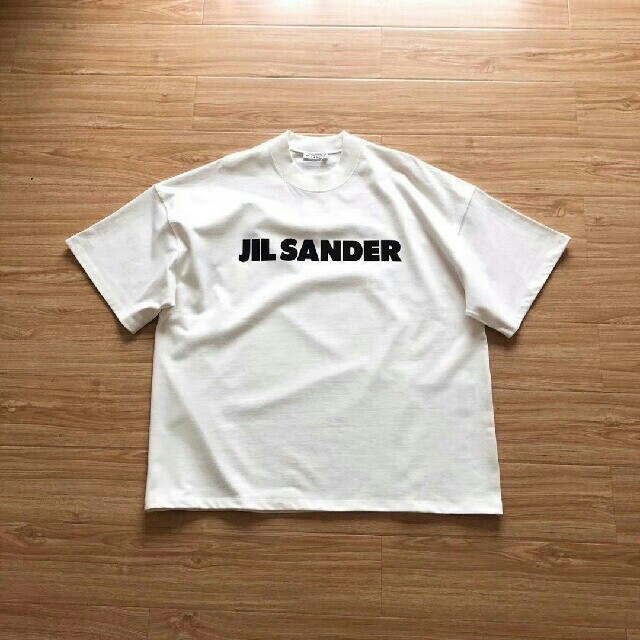 Jil Sander(ジルサンダー)の【Jil Sander】オーバーサイズロゴTシャツ メンズのトップス(Tシャツ/カットソー(半袖/袖なし))の商品写真
