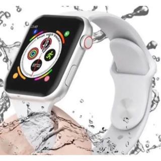 2020年最新型スマートウォッチA1 Apple Watch類似品 ホワイト(腕時計(デジタル))