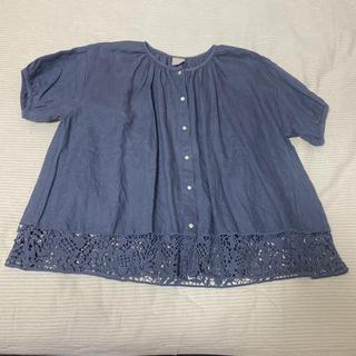 SM2 - 期間お値下げ中!新品ツハルSM2♡裾刺繍レースブラウス羽織り