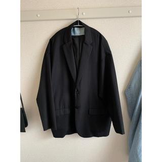 ドゥルカマラ(Dulcamara)のなかむ着19awDulcamaraドゥルカマラ よそいきジャケット BLK 1(テーラードジャケット)
