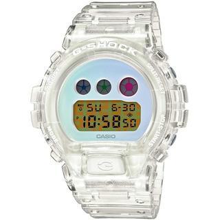 カシオ(CASIO)のカシオ G-SHOCK スケルトン 腕時計 DW-6900SP-7JR(腕時計(デジタル))