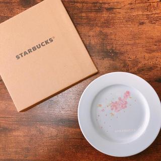 Starbucks Coffee - スターバックス 桜 さくら セラミック お皿 プレート 台湾 海外 限定
