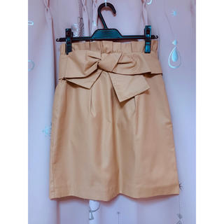 リランドチュール(Rirandture)のRirandtureのリボンスカートです(ひざ丈スカート)