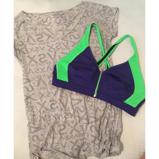 ヴィクトリアズシークレット(Victoria's Secret)のビクトリアシークレット/スポーツブラ&シースルーTシャツ(ウェア)