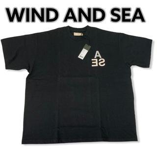 シー(SEA)の新品 wind and sea INVERT Tシャツ L 黒 ウィンダンシー(Tシャツ/カットソー(半袖/袖なし))
