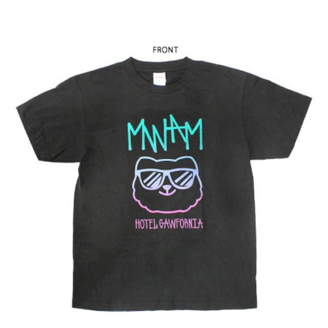 MAN WITH A MISSION(マンウィズアミッション)のMAN WITH A MISSION マンウィズ HOTEL Tシャツ XL エンタメ/ホビーのタレントグッズ(ミュージシャン)の商品写真