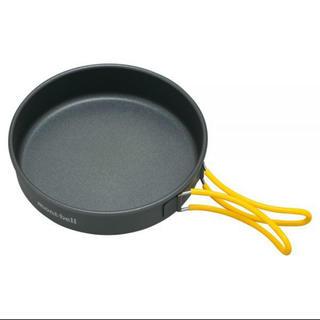 モンベル(mont bell)の新品 モンベル アルパインフライパン 16 アルミニウム製 キャンプ クッカー(調理器具)