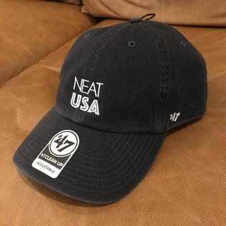 コモリ(COMOLI)の【新品】NEAT USA CAP グレー MIYASHITA PARK限定(キャップ)