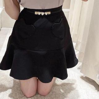 evelyn - ハートポケットフレアスカート
