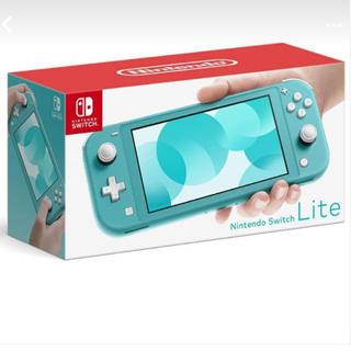 Nintendo Switch - 新品未使用 任天堂 スイッチライト ターコイズ Switch right 本体